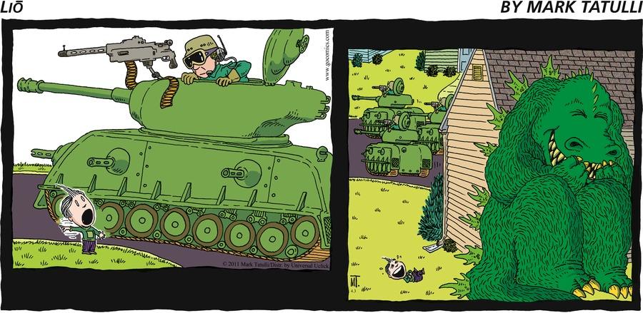 Lio for Apr 3, 2011 Comic Strip