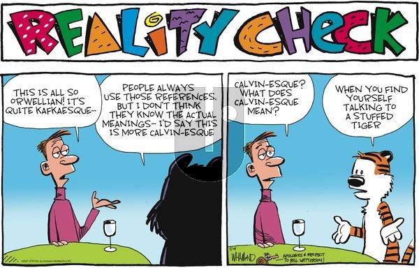 Reality Check on Sunday May 9, 2021 Comic Strip