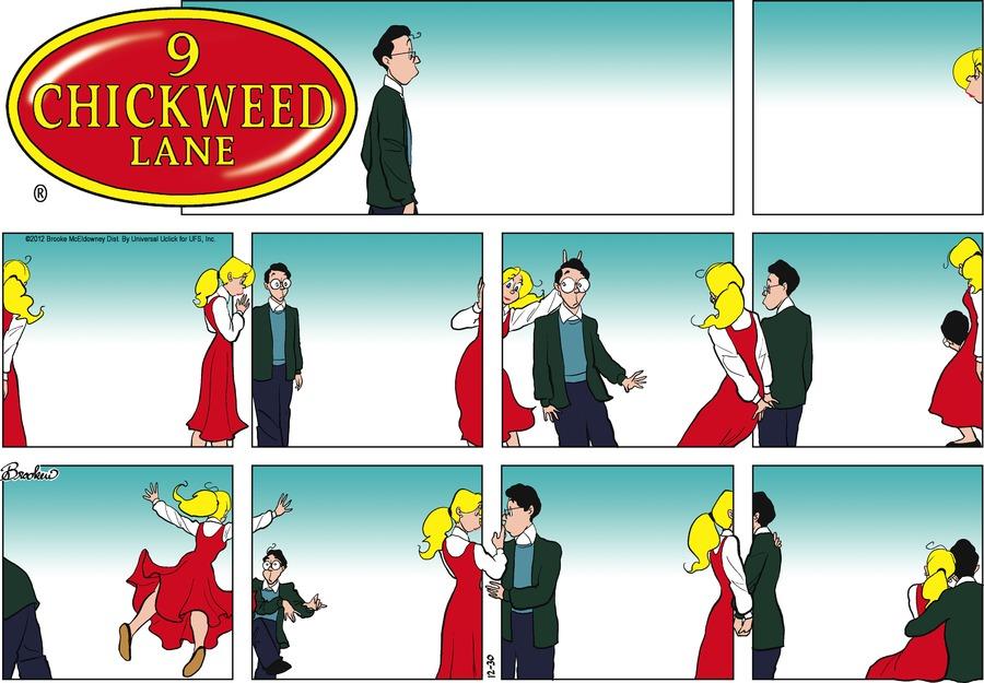 9 Chickweed Lane for Dec 30, 2012 Comic Strip