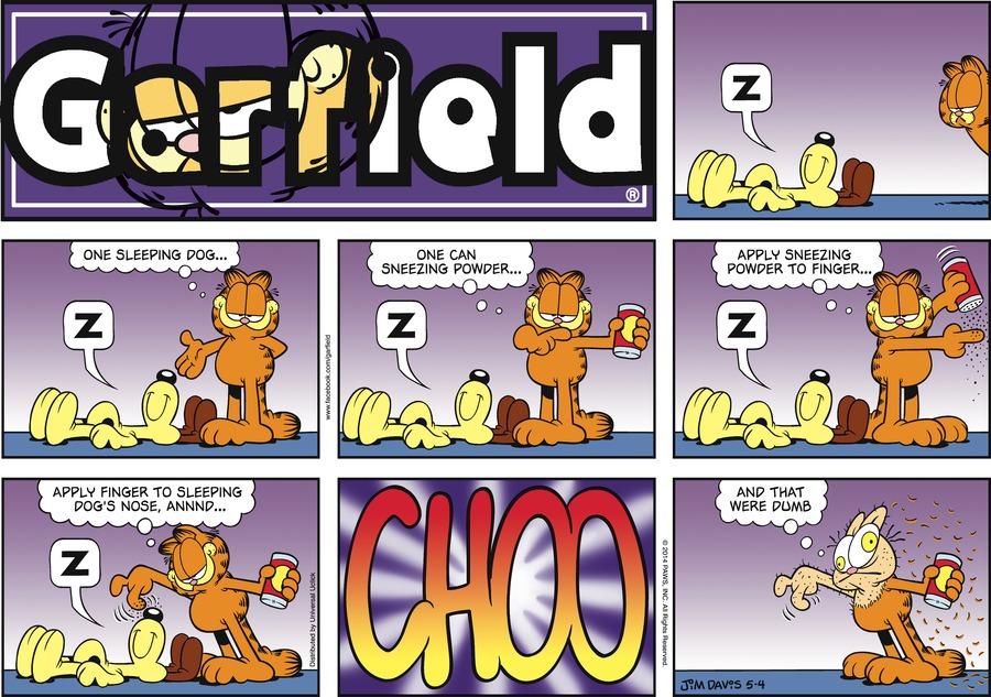 Garfield Comic Strip for May 04, 2014