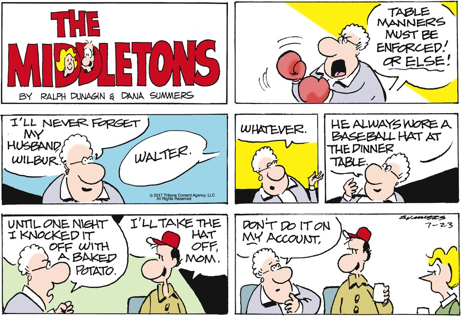 The Middletons Comic Strip for July 23, 2017
