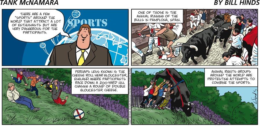 Tank McNamara Comic Strip for July 11, 2021