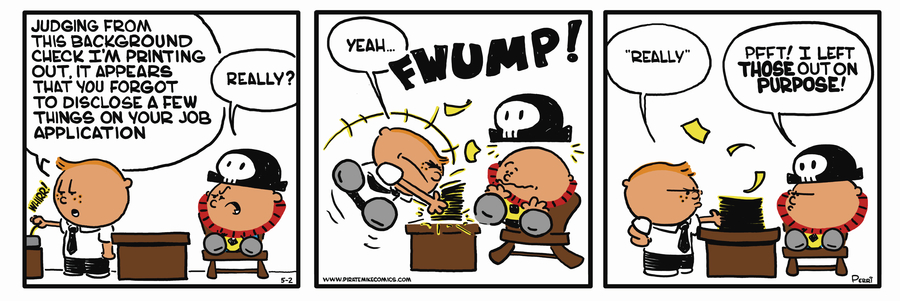 Pirate Mike Comic Strip for February 19, 2019