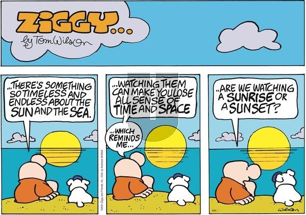 Ziggy on Sunday August 22, 2021 Comic Strip