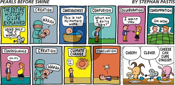 Pearls Before Swine on Sunday July 7, 2019 Comic Strip