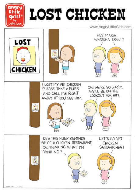Angry Little Girls Comic Strip for January 22, 2019