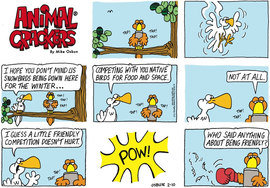 Animal Crackers Comic Strip for February 10, 2019