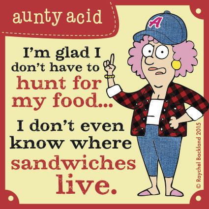 Aunty Acid for Aug 30, 2015 Comic Strip