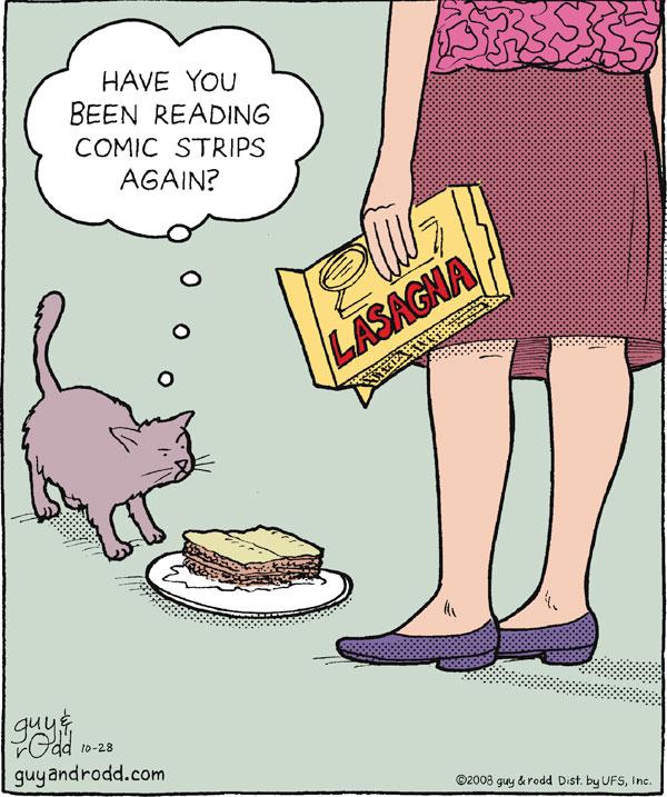 Brevity Comic Strip for October 28, 2008
