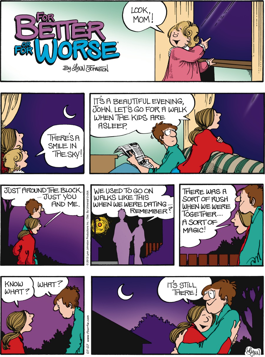 For Better or For Worse for Jul 7, 2013 Comic Strip