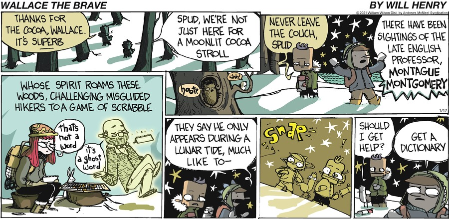 Wallace the Brave Comic Strip for January 17, 2021