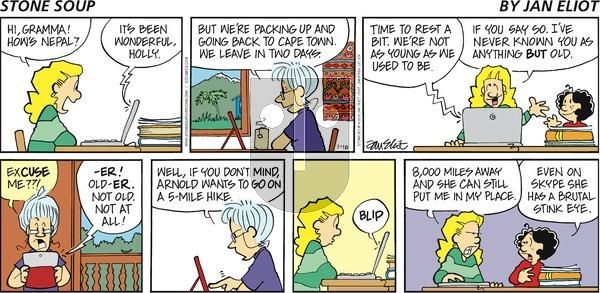 Stone Soup on Sunday January 10, 2016 Comic Strip