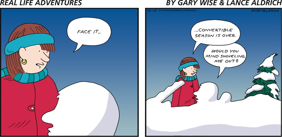 Real Life Adventures for Dec 15, 2013 Comic Strip