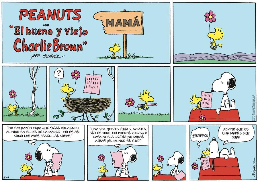 Snoopy en Español by Charles Schulz on Sun, 09 May 2021