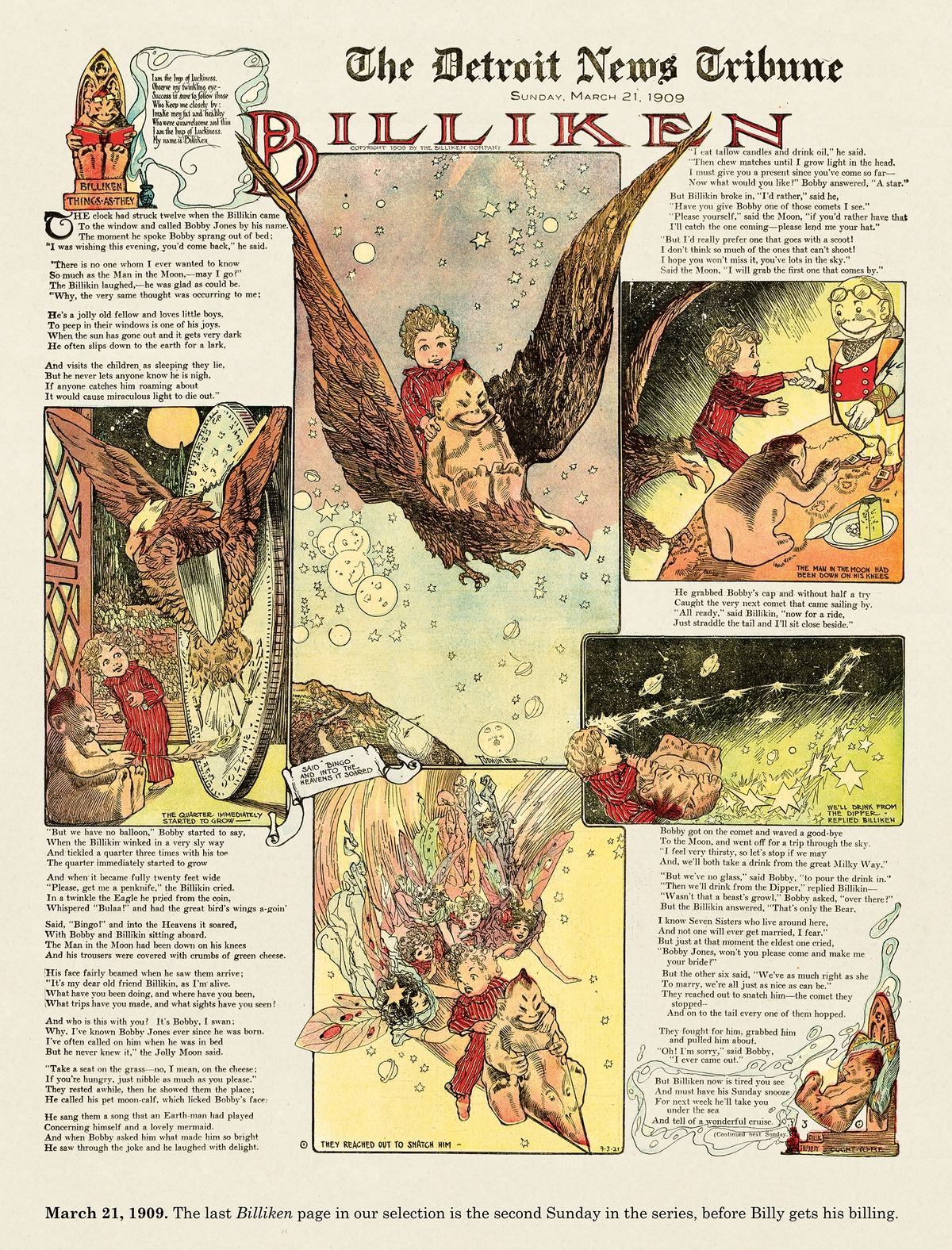 Origins of the Sunday Comics by Peter Maresca on Mon, 04 Oct 2021