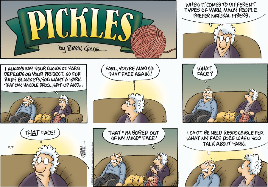 Pickles Comic Strip for November 11, 2018