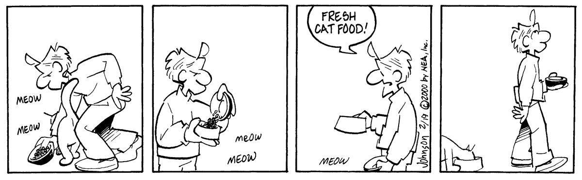 """Meow.. meow.""