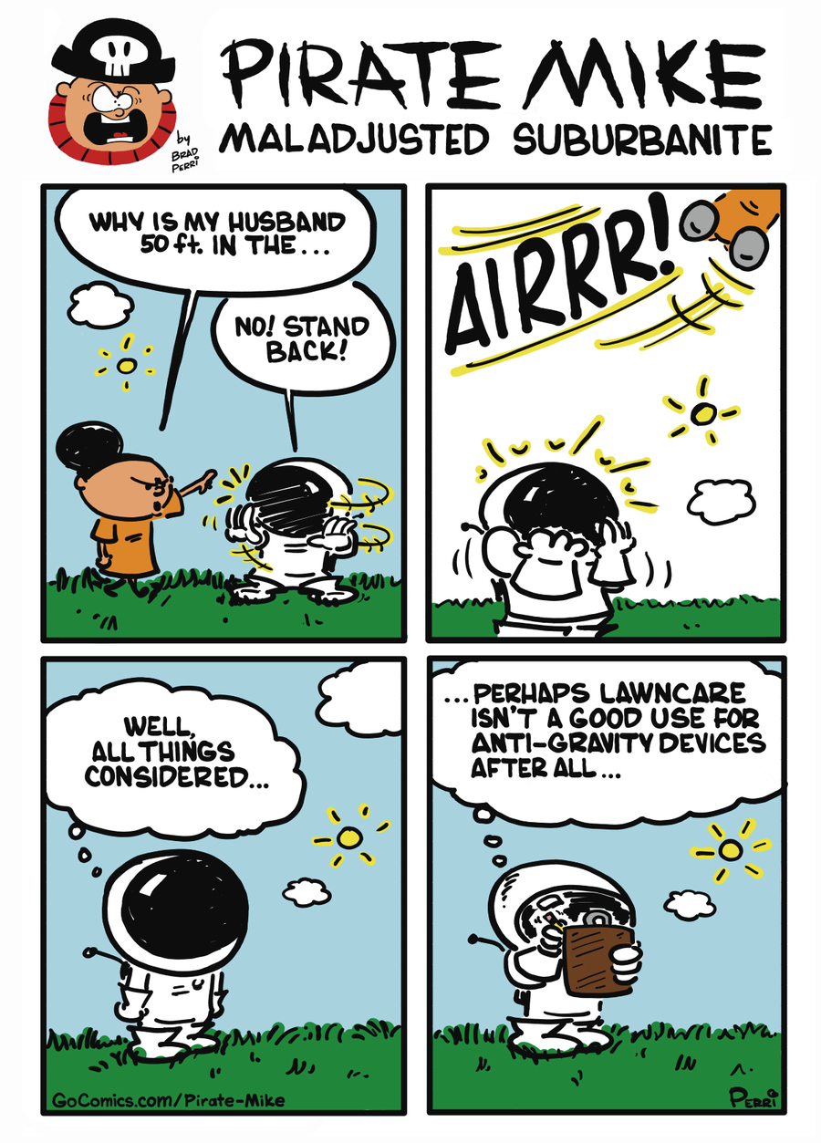 Pirate Mike Comic Strip for October 08, 2019