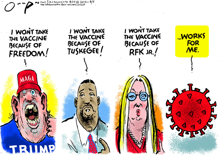 Jack Ohman Comic Strip for August 03, 2021