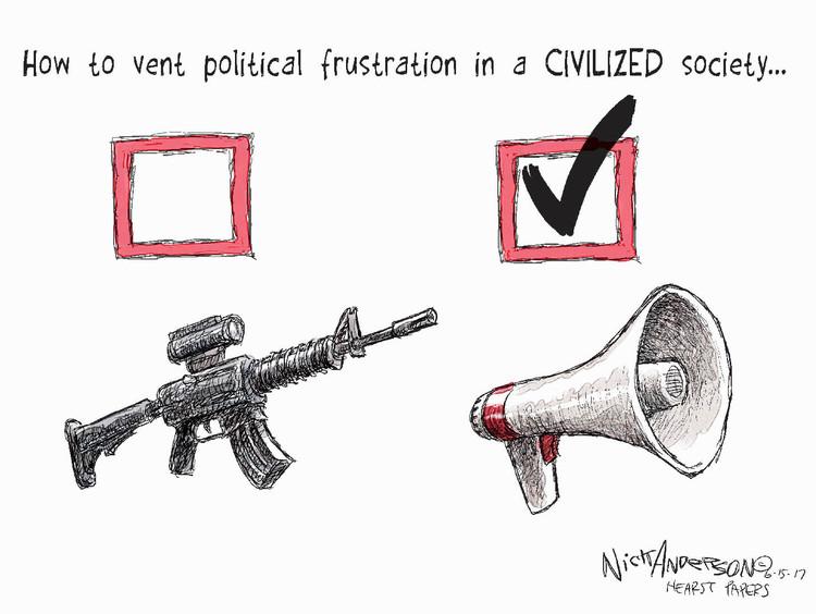 Nick Anderson Comic Strip for June 15, 2017