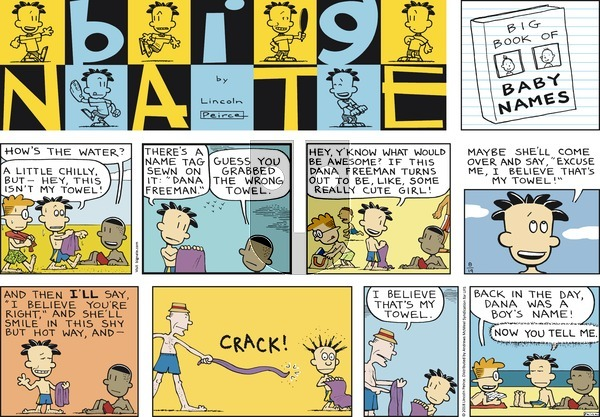 Big Nate on Sunday August 19, 2018 Comic Strip