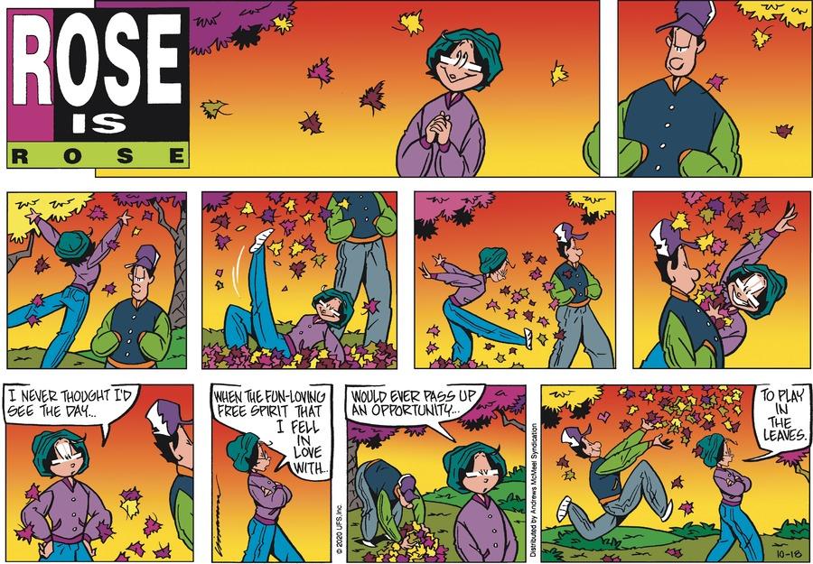 Rose is Rose Comic Strip for October 18, 2020