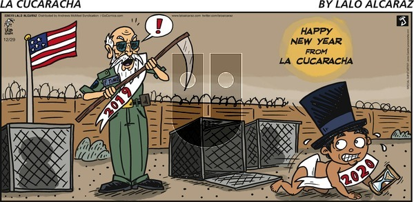 La Cucaracha on Sunday December 29, 2019 Comic Strip