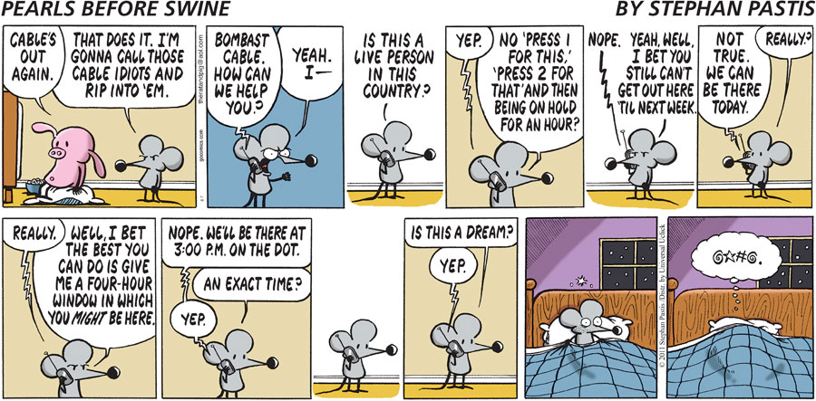 Pearls Before Swine Comic Strip for August 07, 2011