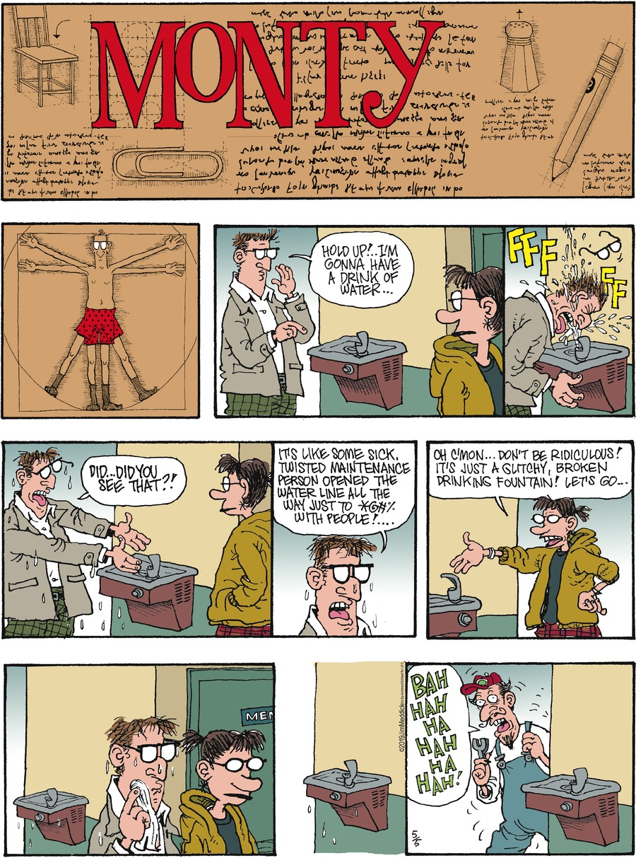 Monty by Jim Meddick for May 05, 2019