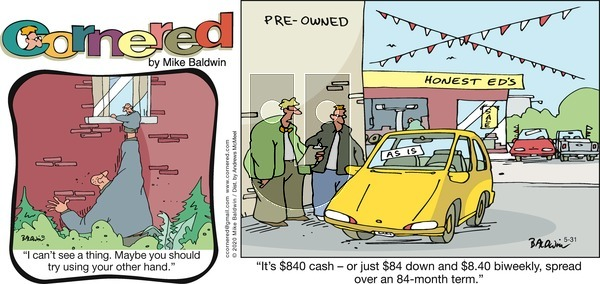 Cornered on Sunday May 31, 2020 Comic Strip