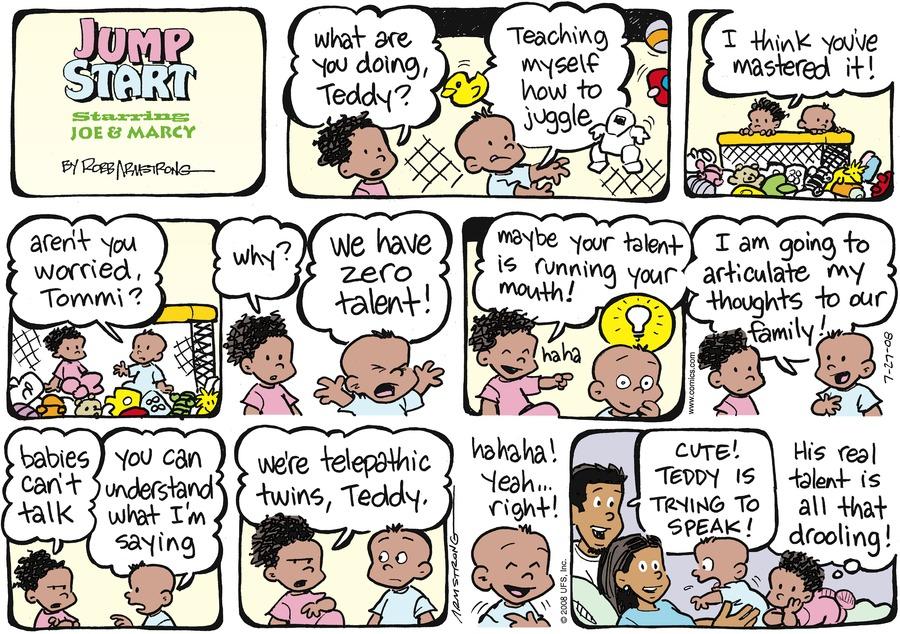 JumpStart Comic Strip for July 27, 2008