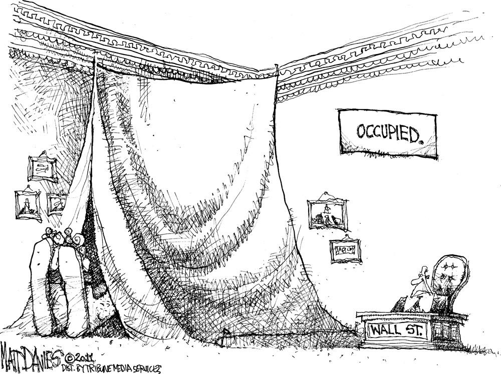Matt Davies Comic Strip for November 18, 2011