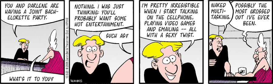 Rudy Park Comic Strip for October 03, 2020