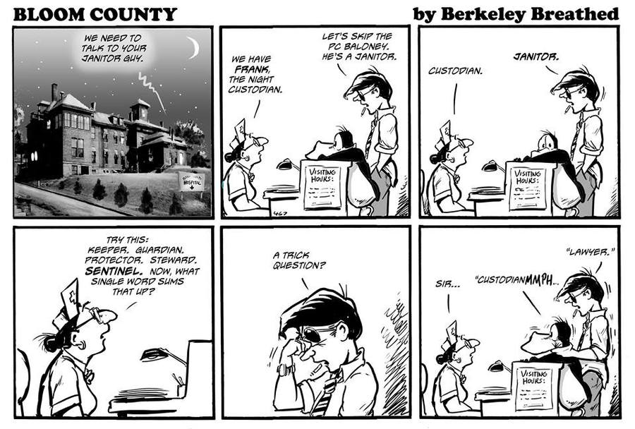 Bloom County 2018 for Aug 12, 2017 Comic Strip