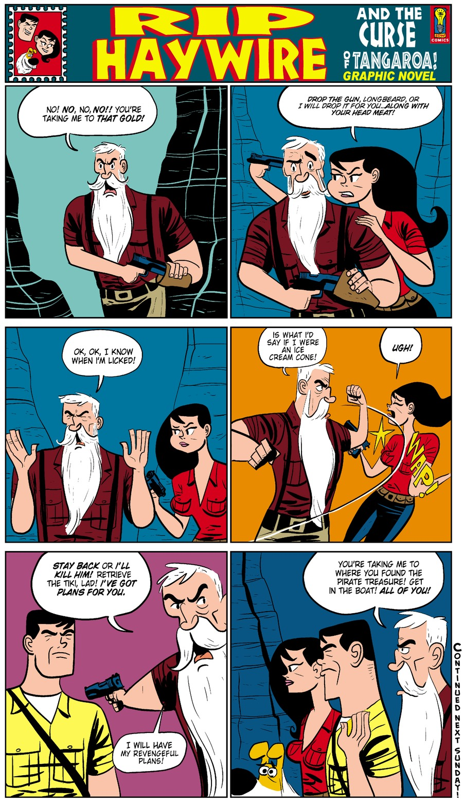 Rip Haywire Comic Strip for February 01, 2015