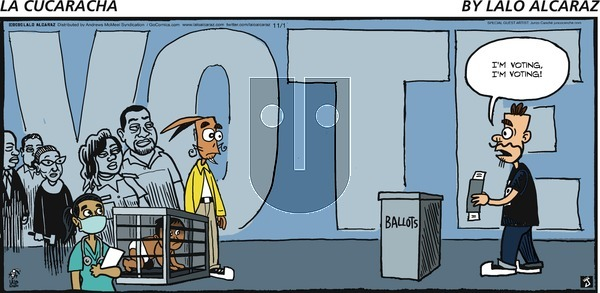 La Cucaracha on Sunday November 1, 2020 Comic Strip