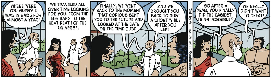 Alley Oop Comic Strip for May 15, 2020