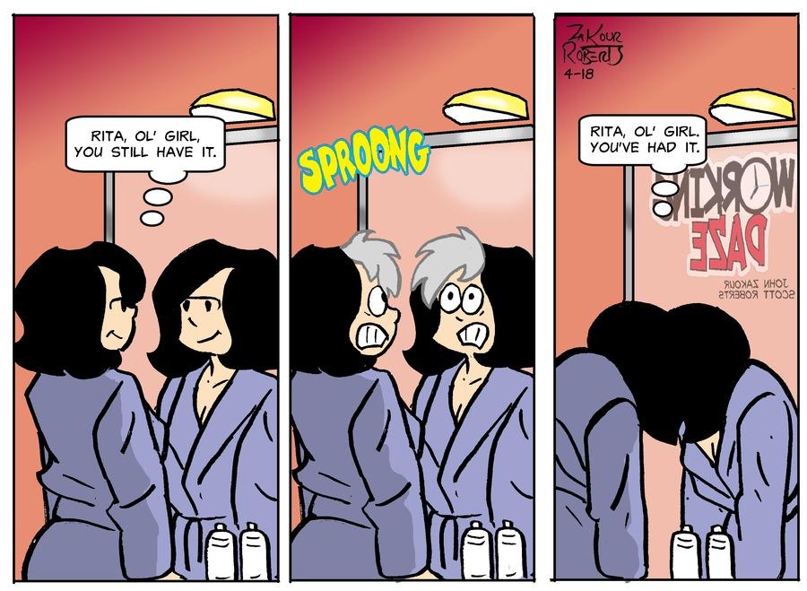 Working Daze Comic Strip for April 18, 2021