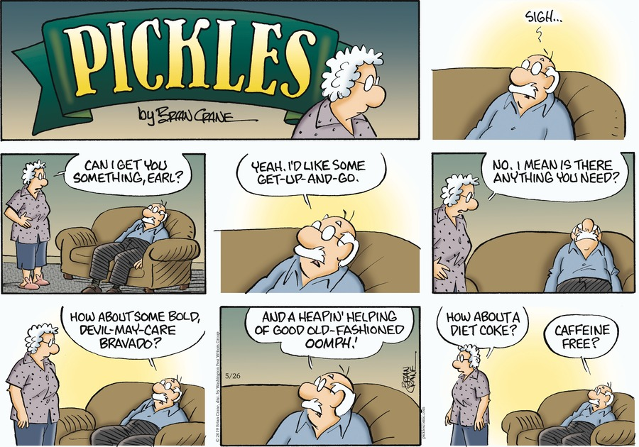 Pickles Comic Strip for May 26, 2019