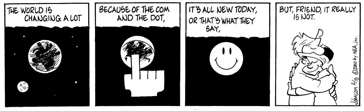 Arlo and Janis Comic Strip for February 18, 2000