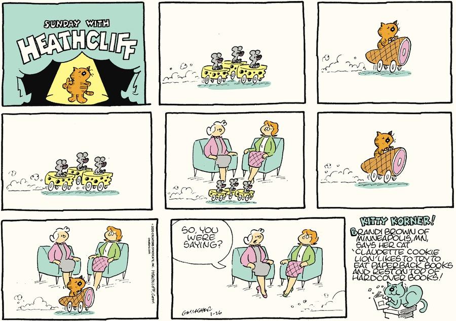 Heathcliff by George Gately on Sun, 26 Jan 2020