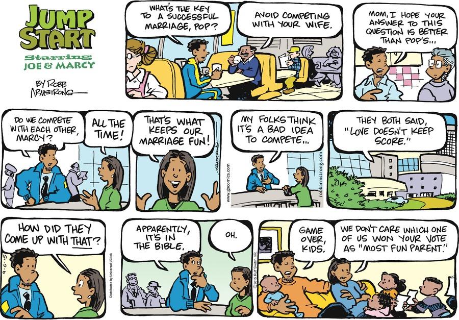 JumpStart for Sep 6, 2015 Comic Strip