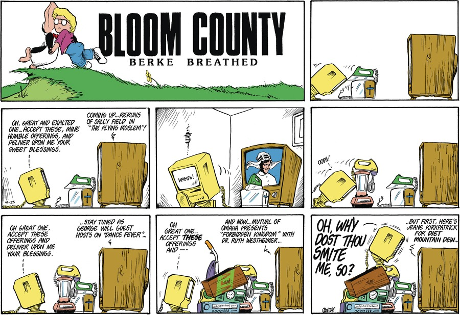 Bloom County Comic Strip for April 17, 2021
