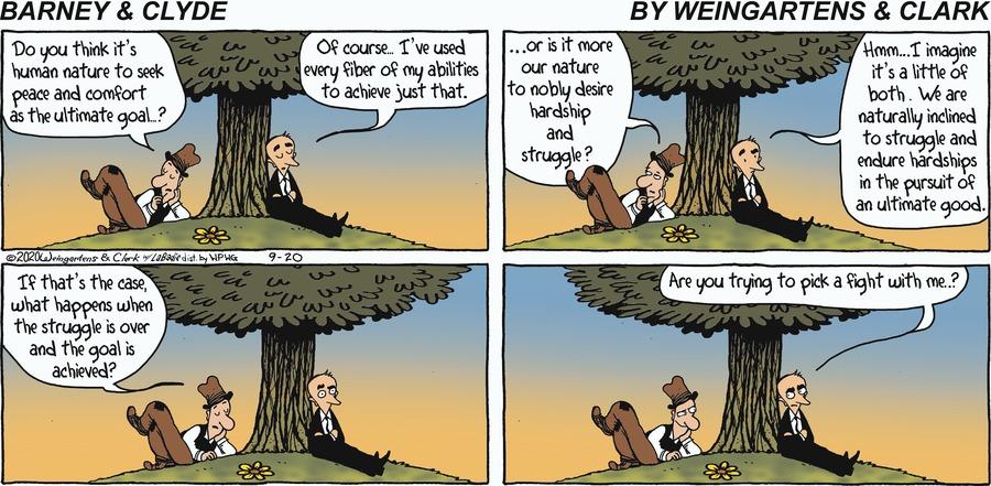 Barney & Clyde Comic Strip for September 20, 2020