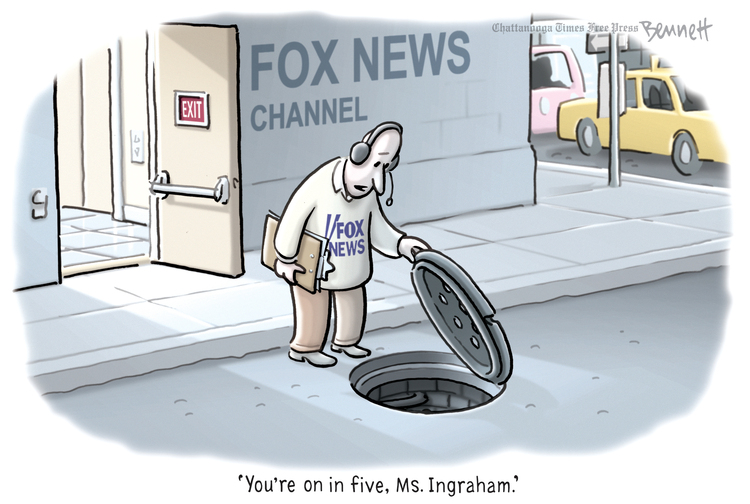 Clay Bennett by Clay Bennett on Sat, 09 Nov 2019