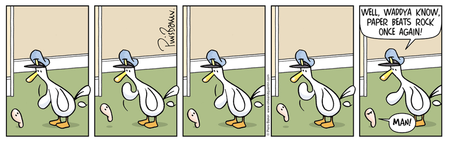 Ollie and Quentin for May 4, 2013 Comic Strip
