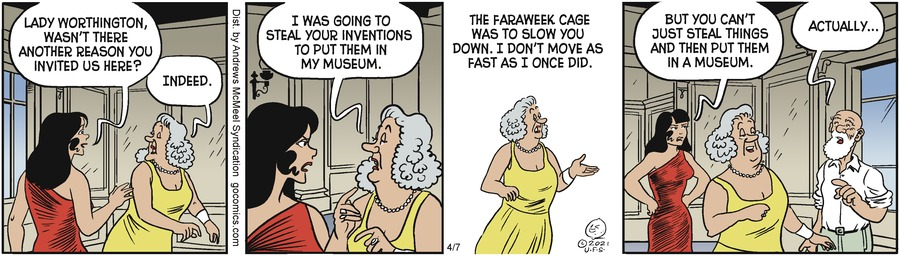 Alley Oop Comic Strip for April 07, 2021
