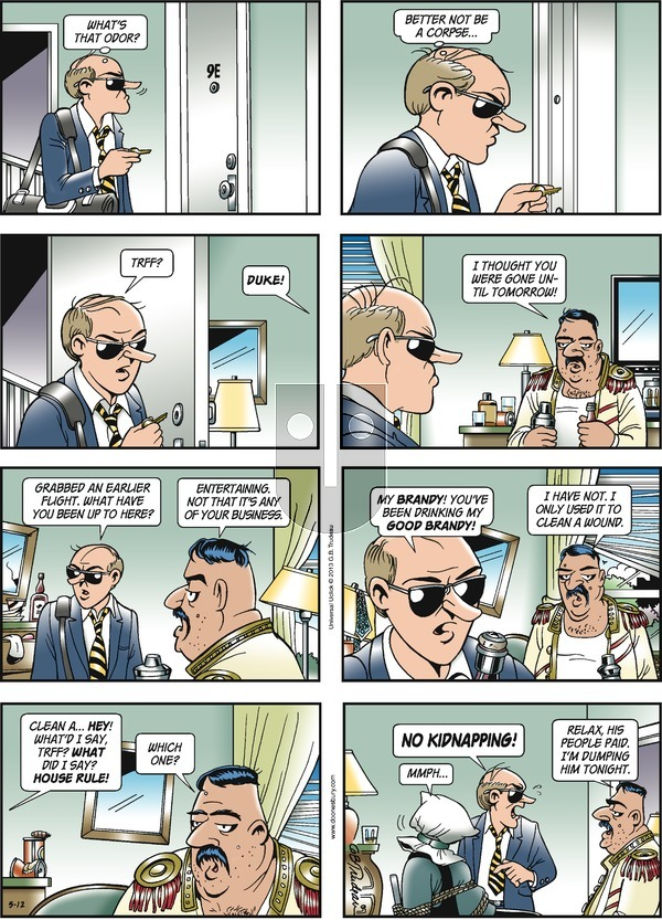 Doonesbury on Sunday May 12, 2013 Comic Strip