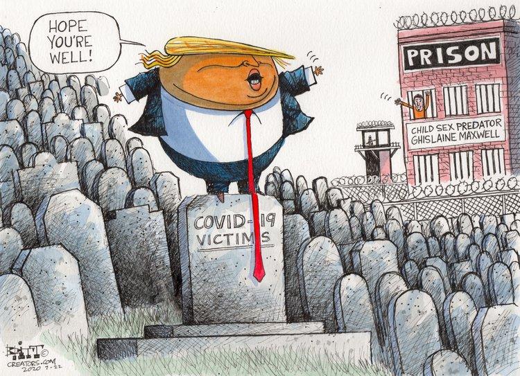 Chris Britt Comic Strip for July 22, 2020