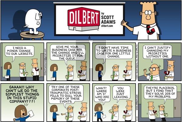 Dilbert on Sunday September 5, 2010 Comic Strip